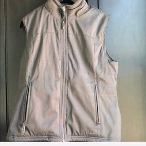 Grey primaloft vest Cabela's Large